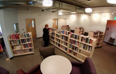 The Center's Terry Mangan Library