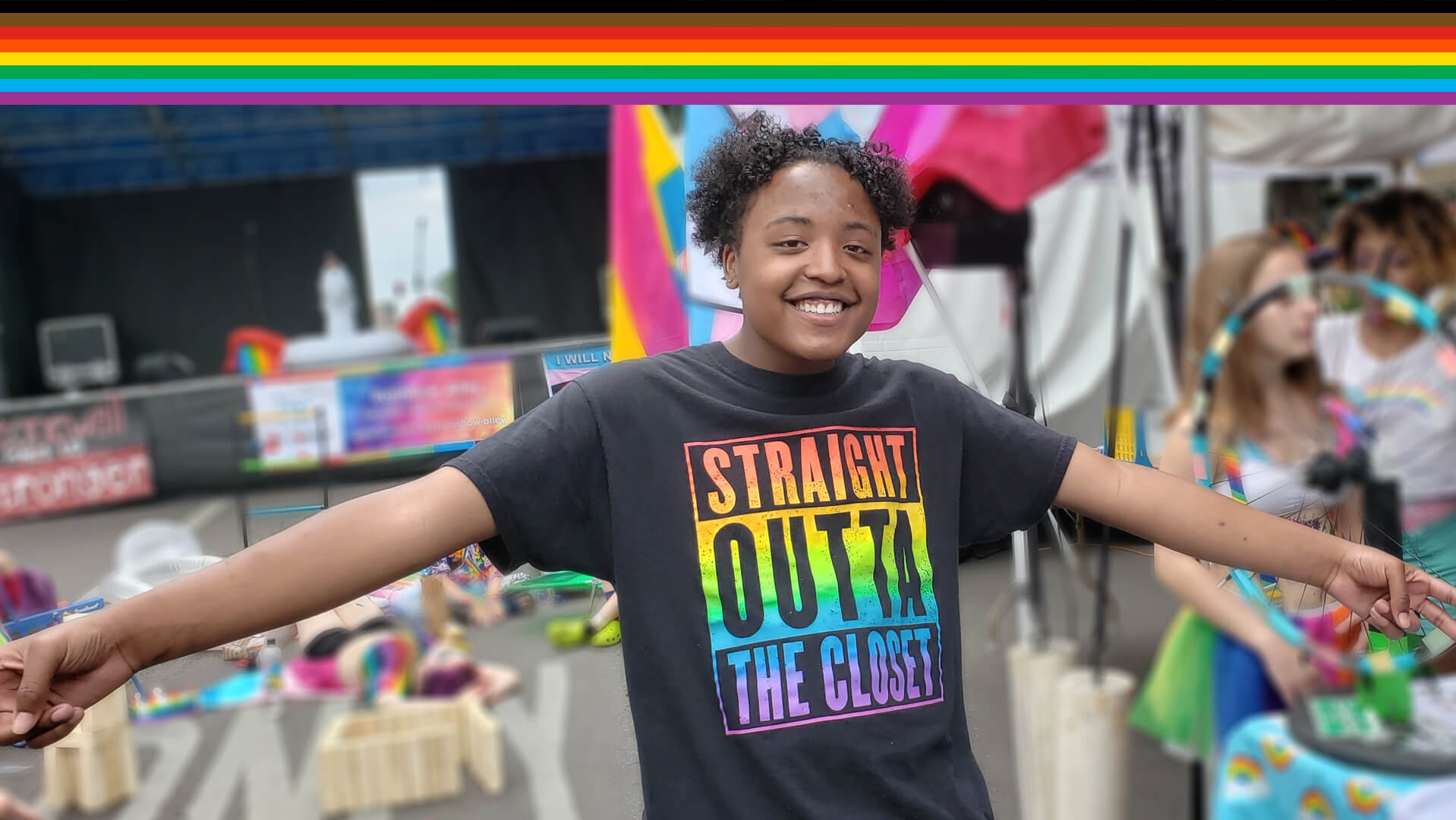 Rainbow Alley for LGBTQ Youth