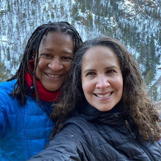 Catherine Smith & Suzette Malveaux